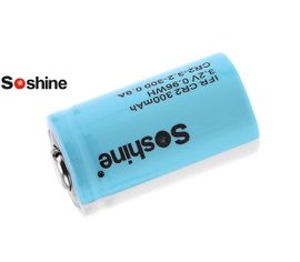 Soshine IFR CR2 300mAh 0,9A 3,2V s ochranou