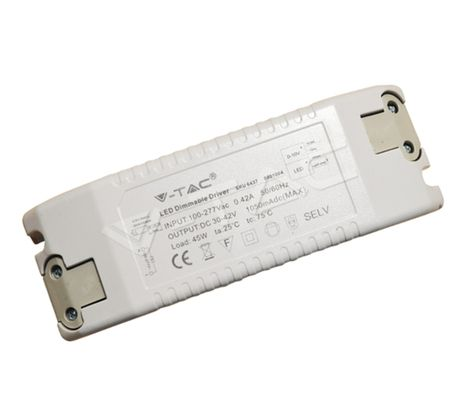 V-TAC napájací adaptér stmievateľný 45W, pre LED panely 45W štvorcové