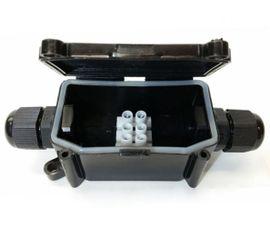 Vodeodolná krabička na spájanie kontaktov