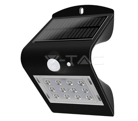 Vonkajšie solárne LED svietidlo V-TAC 1,5W, 220lm so vstavaným akum. Li-ion 1200mAh 3,7V