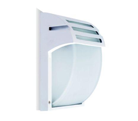 Vonkajšie svietidlo E27 biele