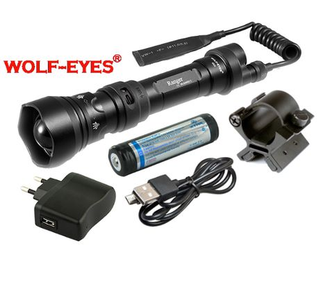 Wolf-Eyes Ranger XP-L HI v.2017, USB nabíjateľný - H. Full Set