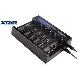 Xtar QUEEN ANT MC6 - Univerzálna nabíjačka pre 3,6/ 3,7V akumulátory