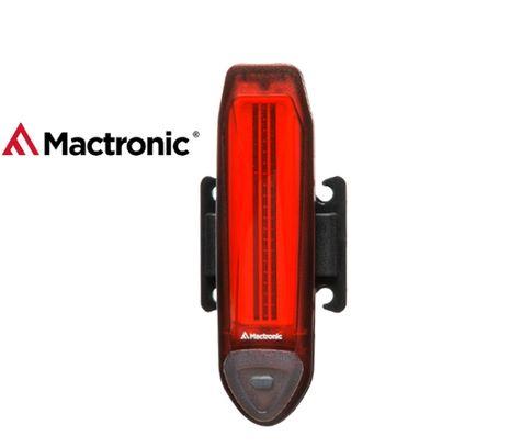 Zadné svietidlo na bicykel MacTronic RED LINE, USB nabíjatelné